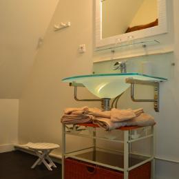 La salle d'eau - Chambre d'hôtes - Saint-Maclou-de-Folleville