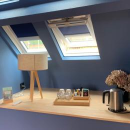 chambre Hysope - salle de bain - Chambre d'hôtes - Octeville-sur-Mer