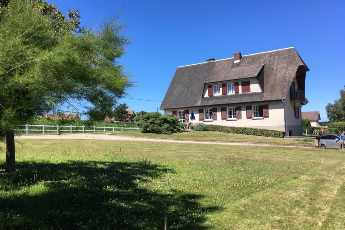 Grande salle à manger et salon - Location de vacances - Saint Leonard / Fecamp