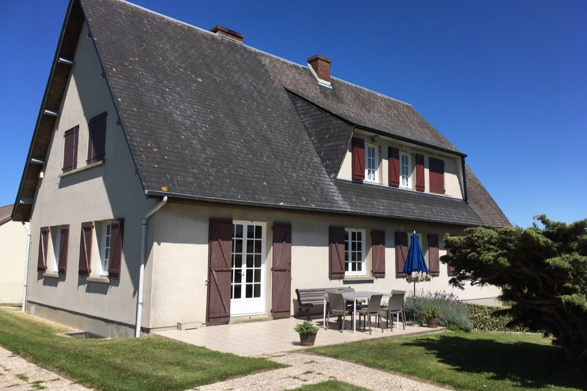 Chambre 1. Rez-de-chaussée. Surface 16 m² . - Location de vacances - Saint Leonard / Fecamp