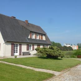 Maison vue d'ensemble - Location de vacances - Saint Leonard / Fecamp