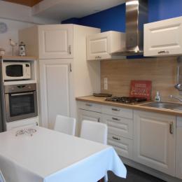 cuisine entièrement aménagée et équipée - Location de vacances - Étretat