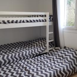 Chambre 3 - 3 lits - Location de vacances - Fécamp