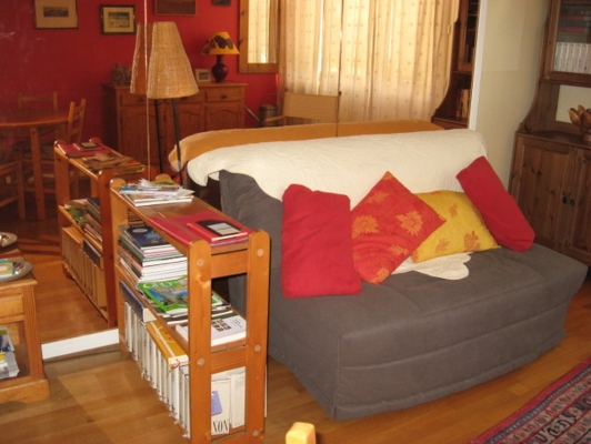 salle de séjour - Location de vacances - Versailles