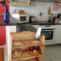 entrée de la cuisine - Location de vacances - Versailles