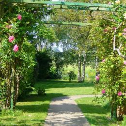 chambre rez de chaussée - Location de vacances - Orgeval