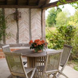 salon étage - Location de vacances - Orgeval