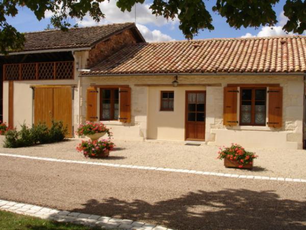 façade  - Location de vacances - Caunay