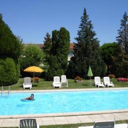 piscine - Location de vacances - Caunay