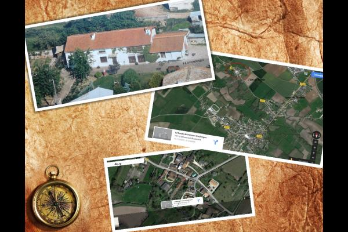 localisation du gite - Location de vacances - Brioux-sur-Boutonne