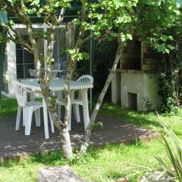 Le coin terrasse - Location de vacances - Sainte-Néomaye