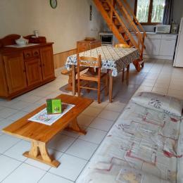 coin cuisine - Location de vacances - Caunay