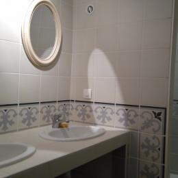 Salle d'eau 1er étage - Location de vacances - Coulon
