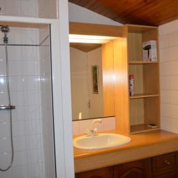 La salle de douche - Chambre d'hôtes - Les Fosses