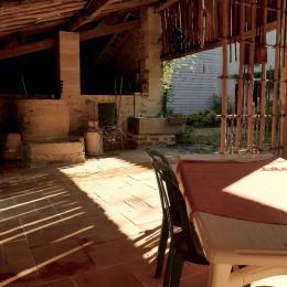 coin cuisine - Location de vacances - Saint-Marc-la-Lande