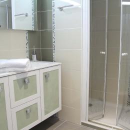 Salle de bain - Location de vacances - Bessines