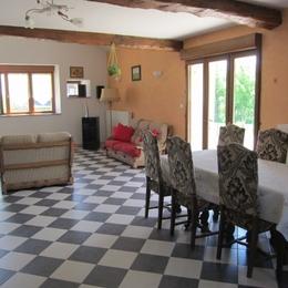 salle à manger - Location de vacances - Barbaise