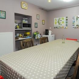 salle du petit déjeuner - Chambre d'hôtes - Charleville-Mézières