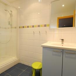 salle de bain chambre bleue - Chambre d'hôtes - Charleville-Mézières