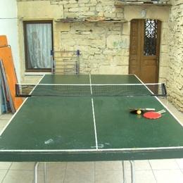 une petite partie de ping-pong? - Location de vacances - Fossé