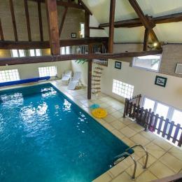 La Charmille, gîte de groupe avec piscine chauffée dans les Ardennes - Location de vacances - Rubigny