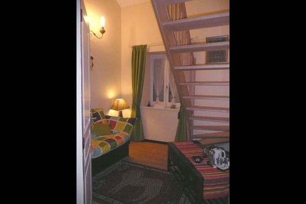 Salon Amérindienne privée - Chambre d'hôtes - Balaives-et-Butz