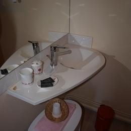 Salle d'eau privée - Chambre d'hôtes - Balaives-et-Butz