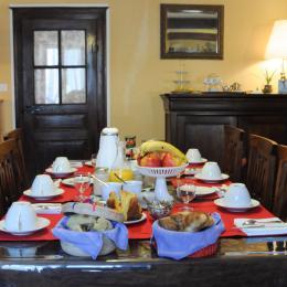 Breakfast - Chambre d'hôtes - Balaives-et-Butz