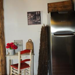 Chambre spacieuse, lit 160 x 200 - Location de vacances - Escombres-et-le-Chesnois