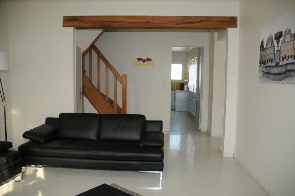 Gite Boucle de Meuse - Glaire- Le salon 2 - Location de vacances - Glaire