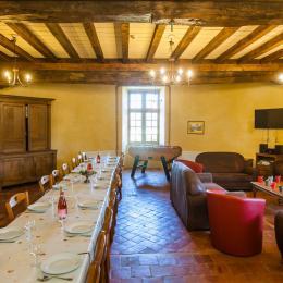 Salle à manger - gîte de Charbogne - Location de vacances - Charbogne