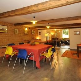Salle à manger - Location de vacances - Saint-Marcel