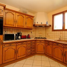 coin cuisine - Location de vacances - Saint-Pierremont