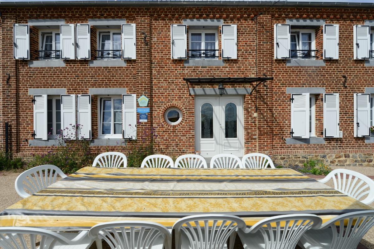 Façade - Location de vacances - La Neuville-aux-Joûtes