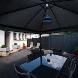 Terrasse - crédit photo Lecomte - Location de vacances - Sedan