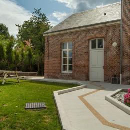 Salon - salle à manger  - Location de vacances - Saint-Jean-aux-Bois