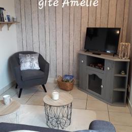 Gîte Amélie - salon - Location de vacances - Juniville