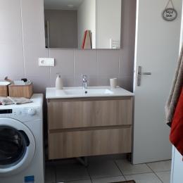 salle de bain - Location de vacances - Juniville