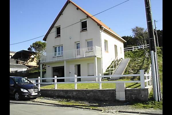 Vue de la façade - Location de vacances - Ault