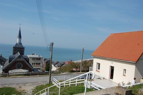 Vue de la terrasse - Location de vacances - Ault