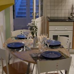 Coin cuisine - Location de vacances - Cahon Gouy