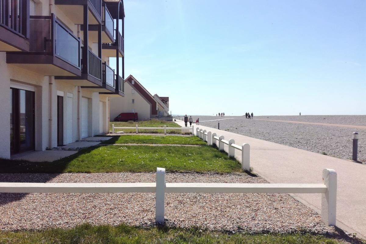 L'apparement avec place de parking privée - Location de vacances - Cayeux-sur-Mer