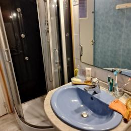salle d'eau avec wc - Location de vacances - Le Crotoy