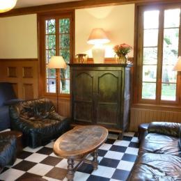 Le salon - Location de vacances - Le Crotoy