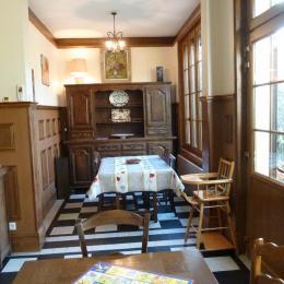 Côté salle à manger - Location de vacances - Le Crotoy