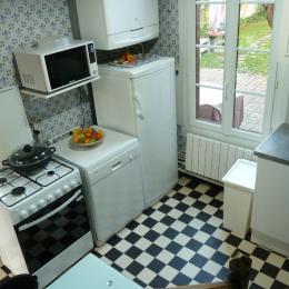 La cuisine - Location de vacances - Le Crotoy