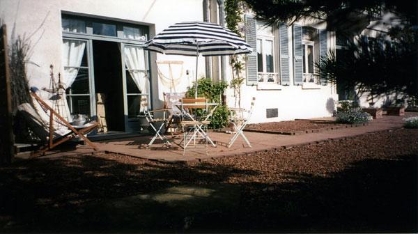 Le meublé, vu de la cour - Location de vacances - Le Crotoy