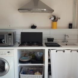 La cuisine équipée  - Location de vacances - Le Crotoy