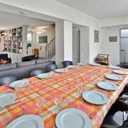 La cuisine et le piano de cuisson - Location de vacances - Le Crotoy