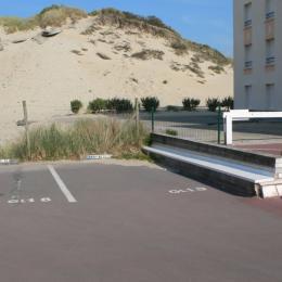 LA PLACE DE PARKING - Location de vacances - Fort-Mahon-Plage